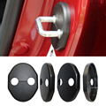 Car door lock cover 4 pcs/set Exterior For Mitsubishi Lancer EX Galant Lancer