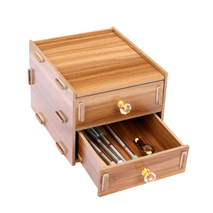 Wood Stationery Holders With D