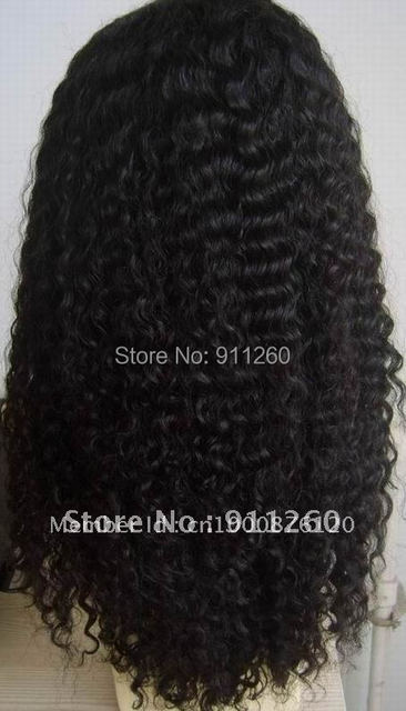 """Lace Front Wig 120% Density 18""""Full Lace Human Hair Wigs For Black Women 7A Brazilian Wig Deep Curly Lace Front Human Hair Wigs"""