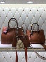 100% genuine leather luxury handbag garden party tote bag women high quality designer famous brand cowhide leather shoulder bag