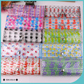 New Design Colorful Decorative Pattern Portable Plastic Sunglasses Pouch for Women Eyewear Container Glasses Bag