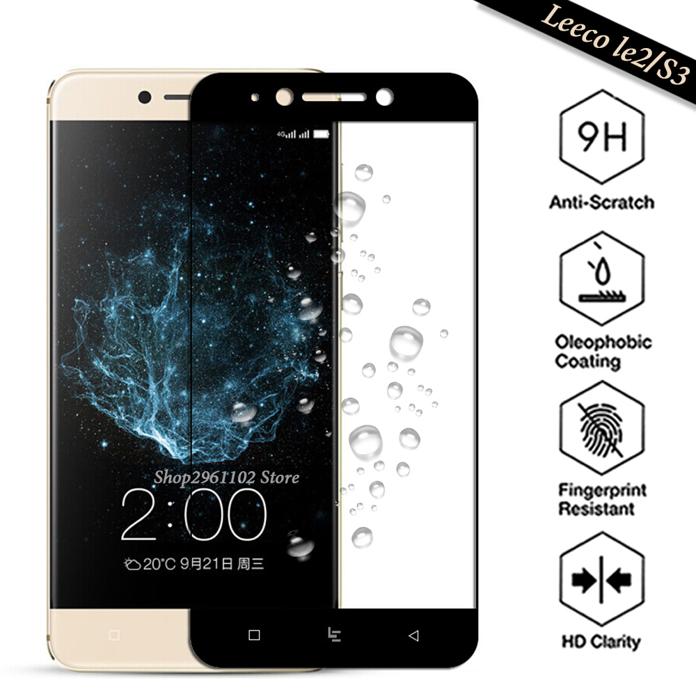 For LeTV LeEco Le2 Pro <font><b>X527</b></font> Tempered Glass <font><b>le</b></font> eco <font><b>Le</b></font> <font><b>2</b></font> Case <font><b>le</b></font> S3 X622 X626 Protective Film Cover For leeco <font><b>le</b></font> s3 x626 Glass s 3 image