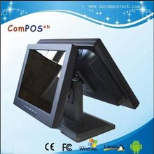 All in one dual screen diaplay touch monitor dual touch screen monitor display pos display touch pos pc