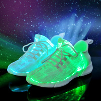 Women Luminous Sneakers Led Shoes Breathable Glowing Sneaker fiber optic shoes for Girls Tenis Led Shoes for Children zapatillas