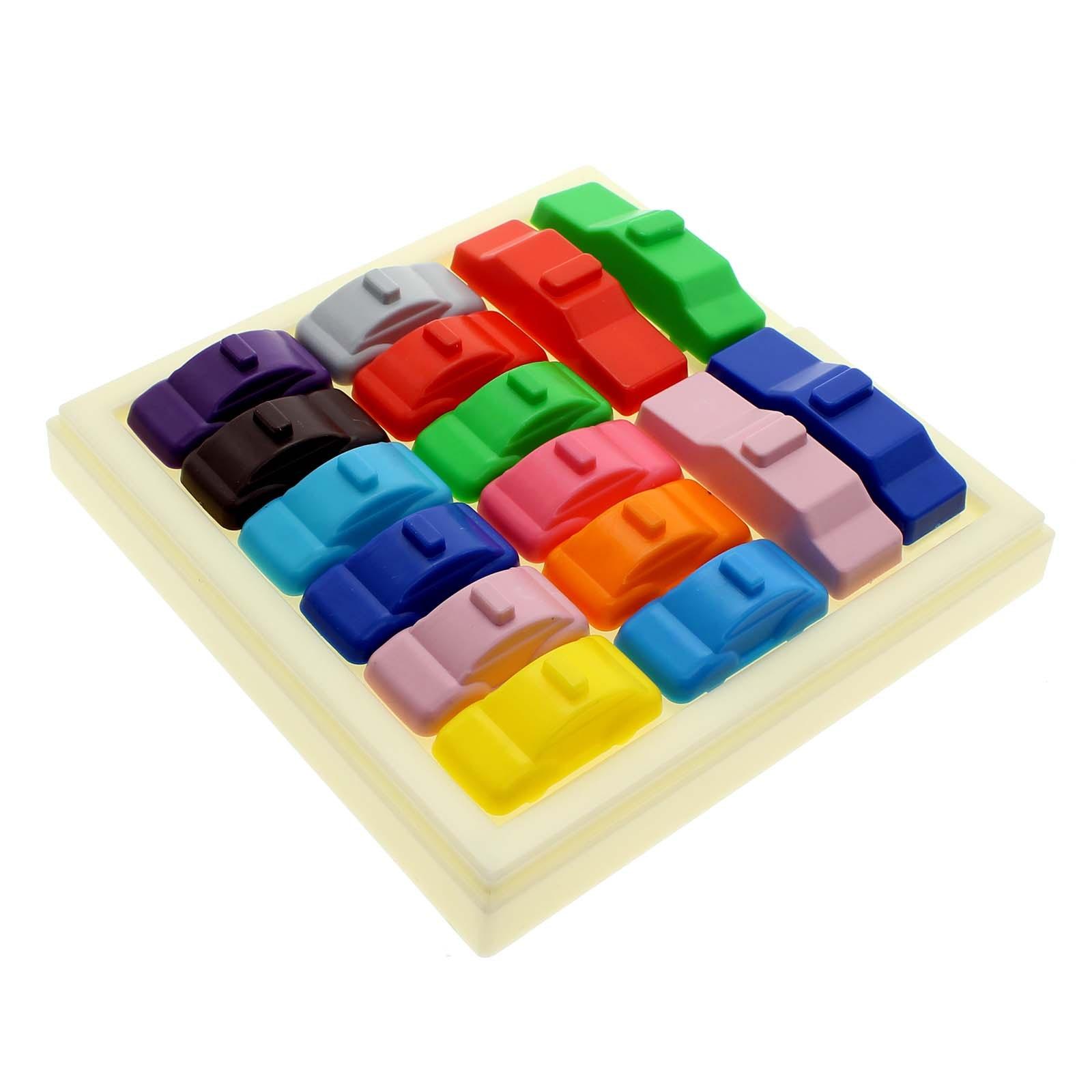 Hot Plastic IQ 160 Traffic Jam Challenges Slide Car Kids Toys Puzzle Escape Game