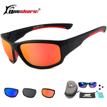 Queshark Polarized Fishing Sunglasses Sport Glasses Outdoor Safety Camping Hiking Bicycle Cycling Sunglasses Fishing Eyewear