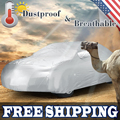 UXCELL Silver Tone Waterproof Sun Uv Dust Rain Resistant All Weather Protective Car Cover Size Yl 4.9*1.9*1.85