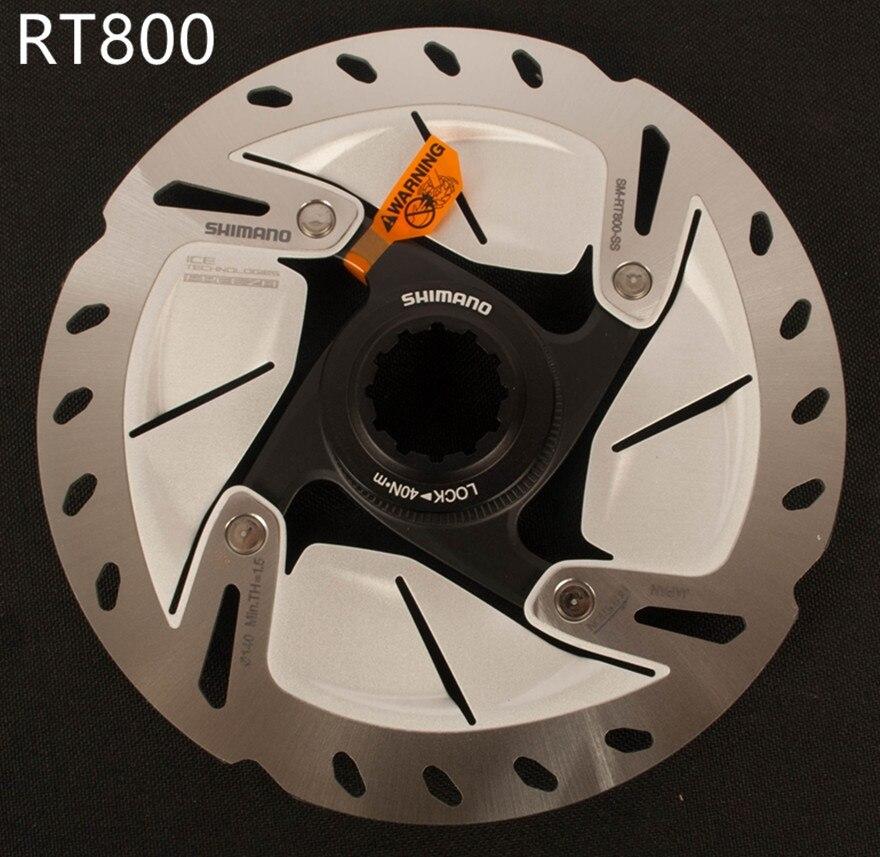 Shimano ULTEGRA SM RT800 Road Bike Disc Brake Rotor Center Lock ICE TECH Freeza Rotors 140mm