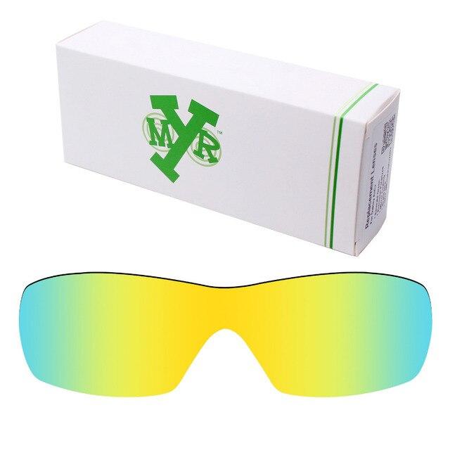 617ef7972045b Mryok Anti-Scratch POLARIZED Replacement Lenses for Oakley Dart Sunglasses  24K Gold