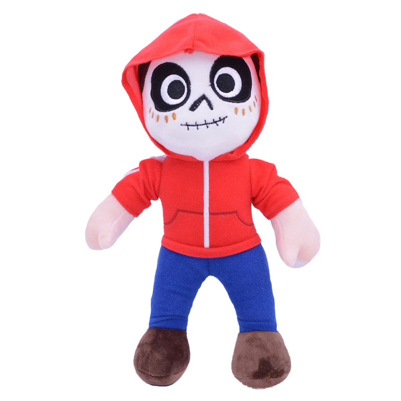 10pcs lot 30cm Pixar Movie COCO Character Miguel Plush Toys Doll Soft Stuffed Cartoon Anime Toys