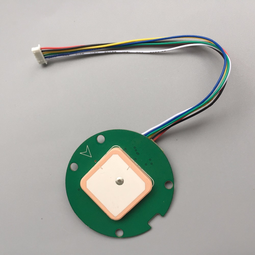 Control de vuelo, GNSS chip diseño Compatible con NEO-M8N GNSS módulo GPS antena, GPS GLONASS de doble modo UART salida 1-10Hz