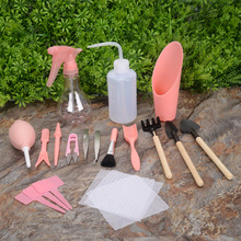 Yooap Gardening Tools-16 Sets Garden Accessories Household Agriculture Bonsai Tools Outdoor Complete Set of Planting Accessories цены