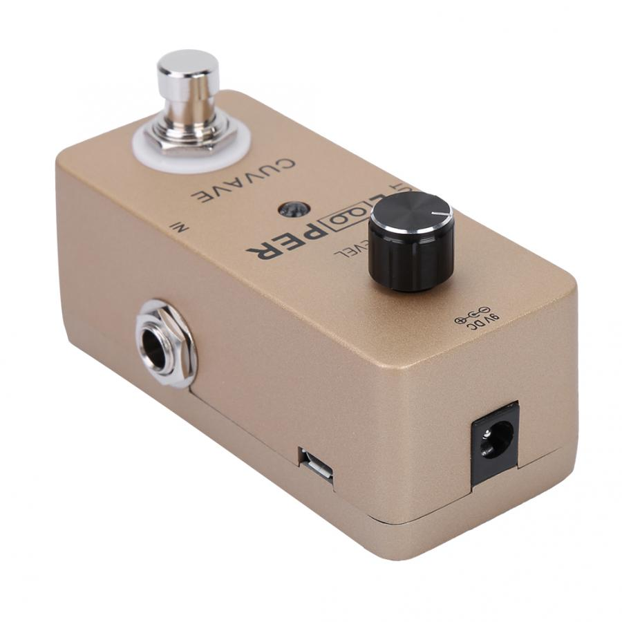 Electric Guitar Durable Mini Looper Pedal Guitar Effect Pedal Full Metal Shell Guitar Accessories