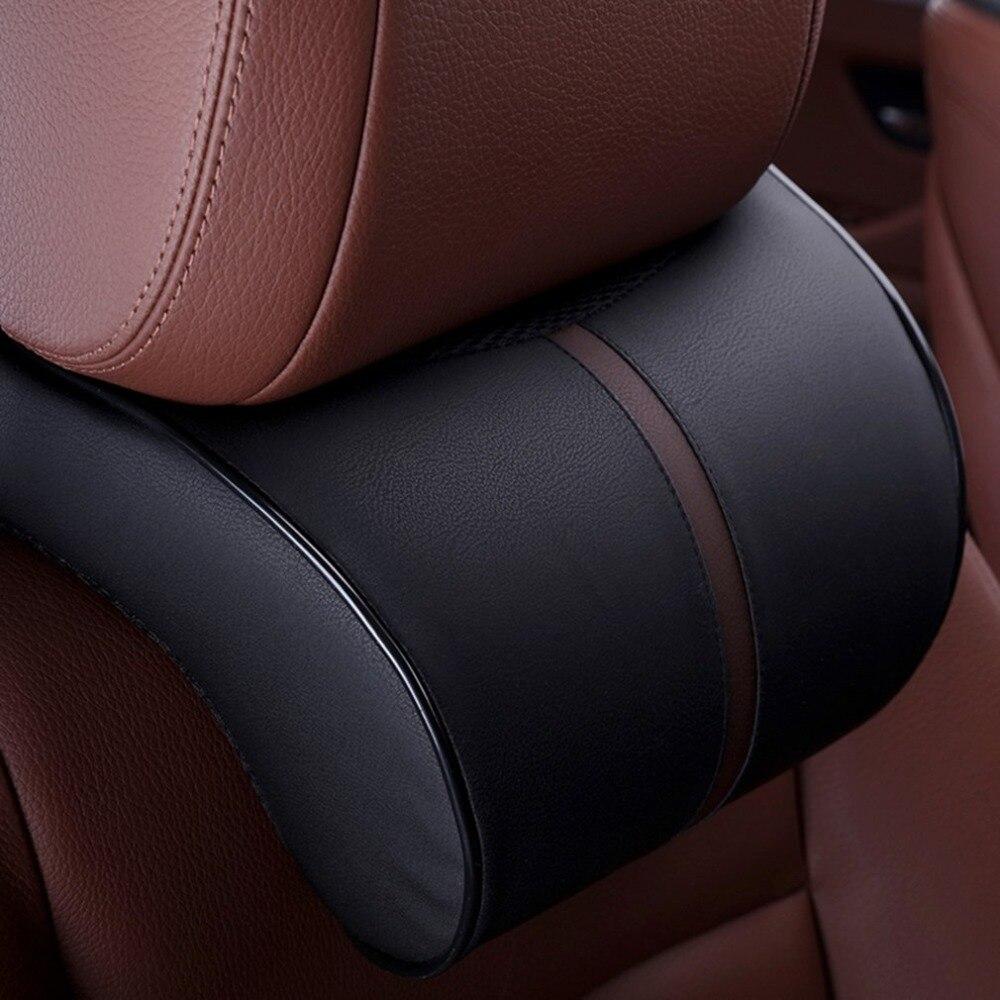 Comfortable  Auto Car Ergonomic Creative Memory Cotton Headrest Neck Rest Cushion Pillow