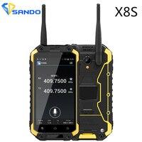 제노 X8S IP68 방수 휴대 전화 2 기가바이트 16 기가바이트 4.7