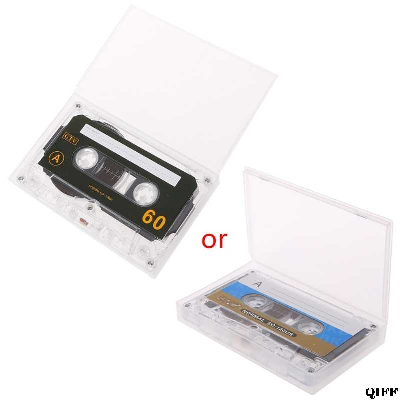 Drop Ship&Wholesale Standard Cassette Blank Tape Empty 60 Minutes Audio Recording For Speech Music Player APR29
