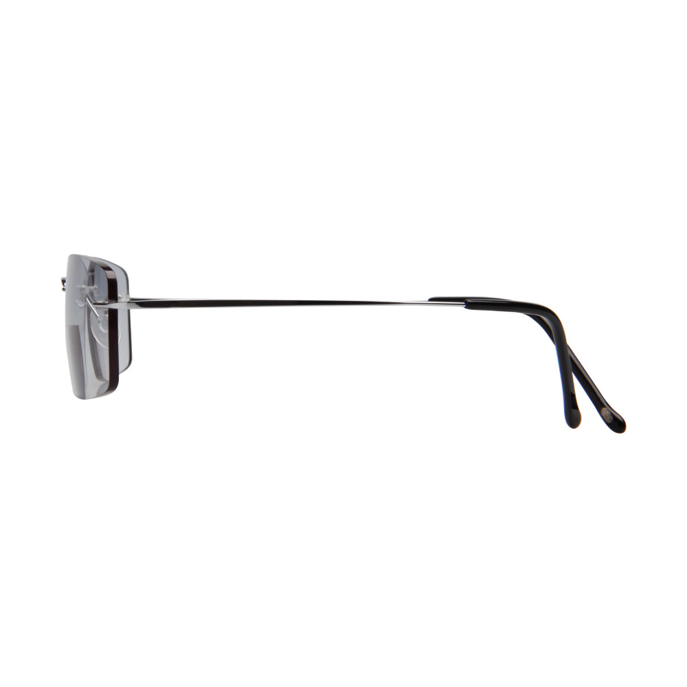 LianSan Mode Vintage Titanium Rimless Kacamata Baca Bifocal Wanita - Aksesori pakaian - Foto 3
