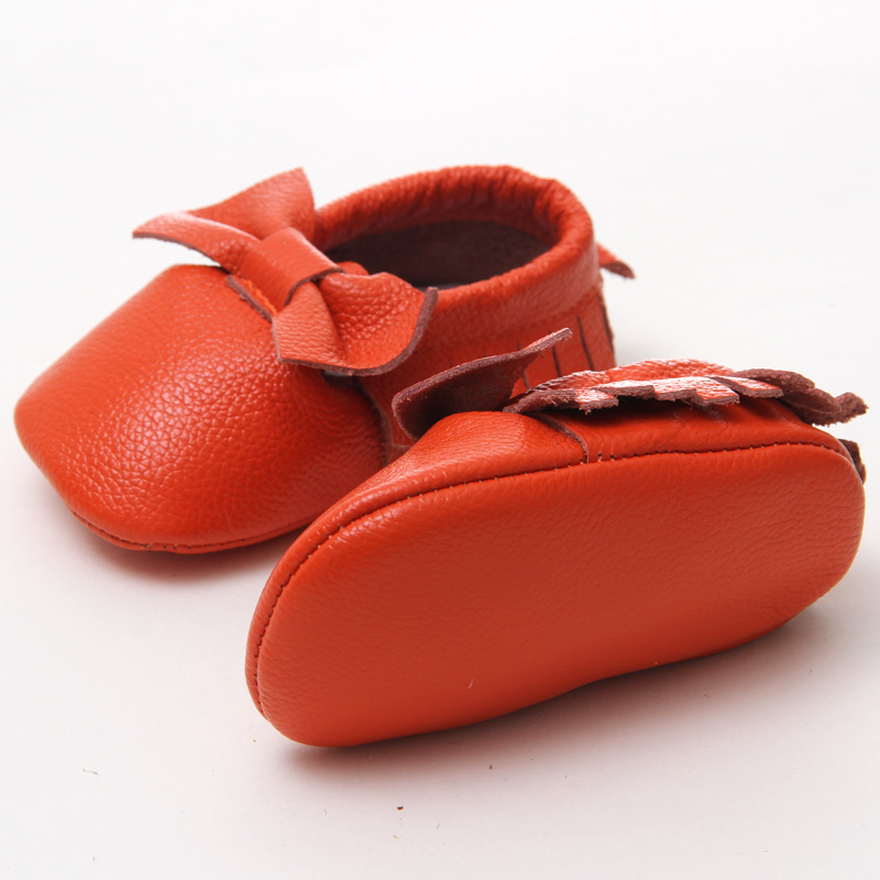 3422f4ae7b2d Baby Bow Shoes Baby Shoes First Walkers Brand Leather Baby Moccasins ...