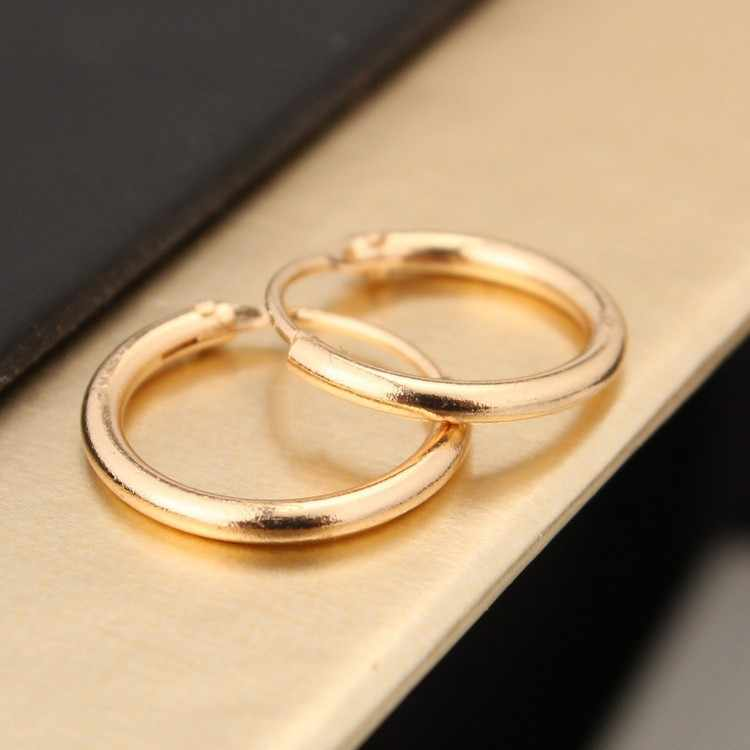 เครื่องประดับเกาหลีต่างหูคนรักวงกลมแหวนต่างหูและแหวนต่างหูหญิง Hip Hop Hoop ต่างหู