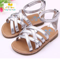 Foreign trade wholesale new hot summer baby girl sandals Outdoor princess shoes rubber bottom learning first walking lx11