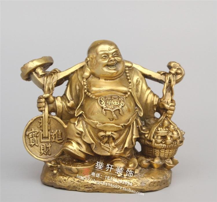 MOEHOMES China brass fengshui wealth lucky maitreya Buddha statue metal handicraft home decorationsMOEHOMES China brass fengshui wealth lucky maitreya Buddha statue metal handicraft home decorations