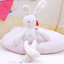 2018 Cute Rabbit Doll Baby Soft Plush Animals Toys Children Bunny Rabbit Sleeping Mate Stuffed &Plush Animal Baby Toys Infants