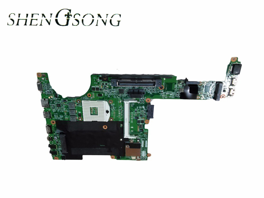 Free Shipping NOTEBOOK MOTHERBOARD SYSTEM BOARD 641733-001 FOR HP PROBOOK 6360B SERIES WORKING PERFECT TESTED 654306 001 fit for hp probook 4535s series laptop motherboard 1gb ddr3 socket sf1 100% working