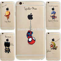 ciciber Marvel DC Comics Iron Man Spider-Man joker soft silicone cover Case for iphone 11 Pro Max 7 6 S 8 plus 5S SE X XR XS MAX