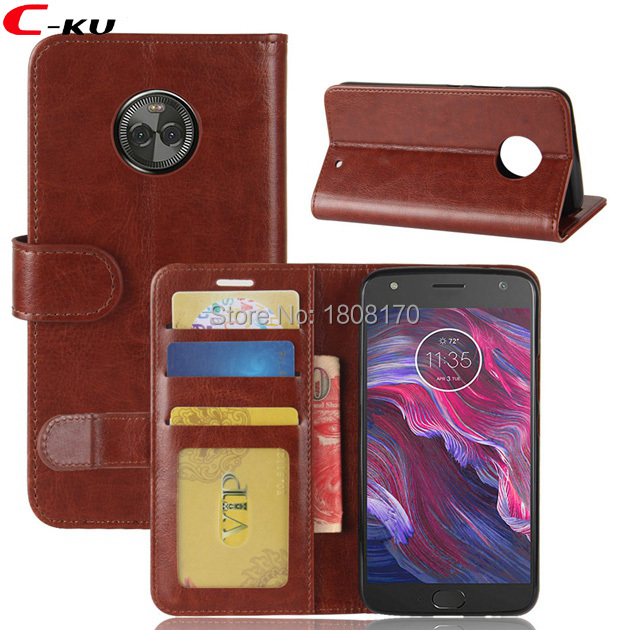 official photos 6bd96 f0235 Aliexpress.com : Buy For MOTO X4 For Sony Xperia XA1 Crazy Horse ...
