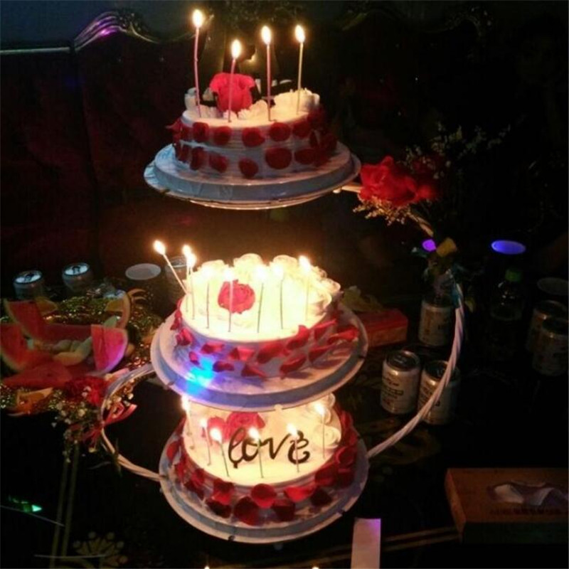 20 25 30CM DIY 1PC Delfenfen Cake Stands for Wedding Birthday Party Suppliers Cake Shop for