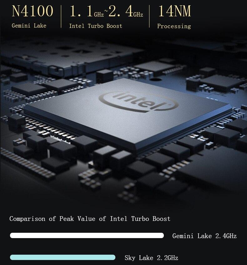 Jumper EZbook X4 laptop 14 1080P Metal Case notebook Gemini lake N4100 4GB 128GB SSD ultrabook backlit keyboard Dual Band Wifi (3)