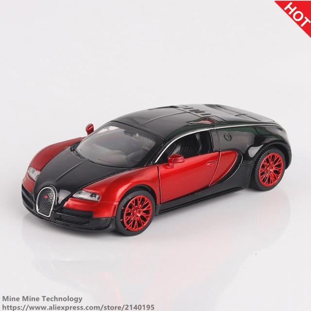 Double Horses 1:32 Bugatti Veyron Alloy Diecast Car Model Pull Back Diecast  Metal Cars