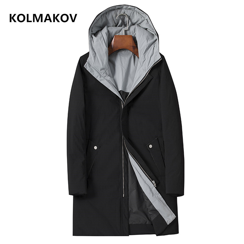 2018 Winter Men   Down     Coat   fashion Classic   Down   Jacket high quality Parka men's casual business men's thickening warm   coat