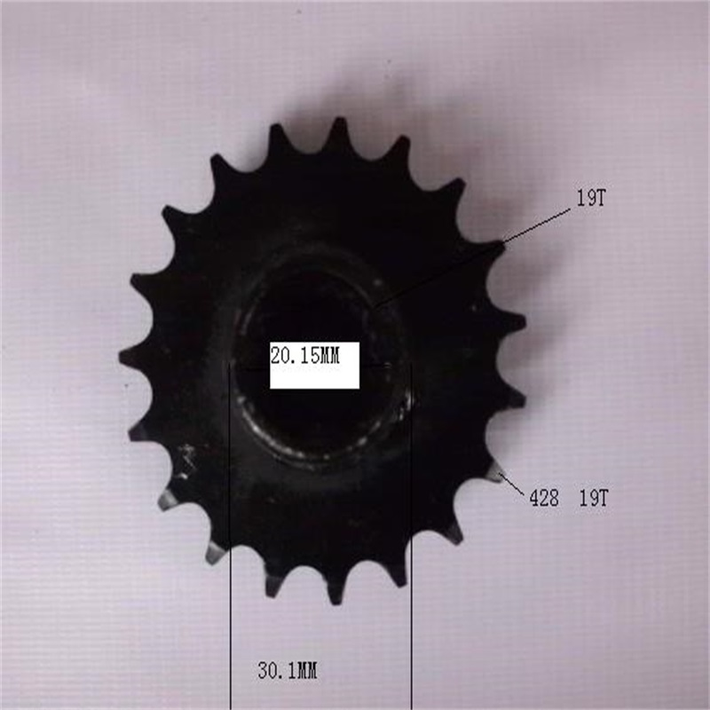 Atv Parts & Accessories Atvs Atv Utv Parts Go Kart Karting Quad 4x4 110cc 150cc Front Sprocket Sprockets Inner Hole 19t Outside 19t For 428 Chain Limpid In Sight
