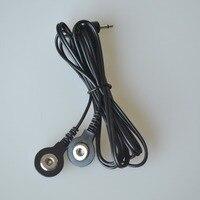 50 Stks/pak 2 Manier Elektrode Aansluitkabels Digitale Therapie Tientallen Gezondheidszorg Body Apparaat Met 2.5mm Plug