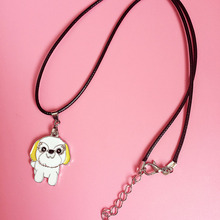 New,Factory exclusive design DIY yorkshire terrier necklace, contracted style.Send the key chain цены онлайн