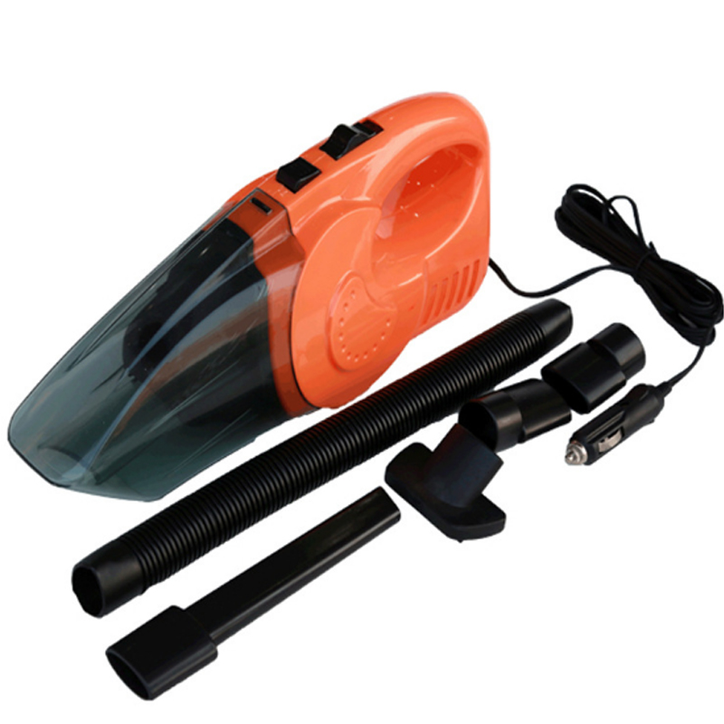 Mini 12V 120W Hand Held Wet Dry Bagless Car Auto Vacuum Cleaner multifunction Powerful Suction Rechargeable Dust Buster