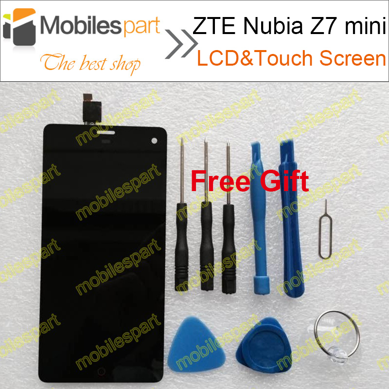 ФОТО ZTE Nubia Z7 mini  LCD Display +Touch Screen 100% Original Replacement LCD Screen For Nubia Z7 mini  Smartphone Free Shipping