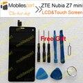 Zte nubia z7 mini display lcd + touch screen 100% tela lcd de substituição original para nubia z7 mini smartphone frete grátis