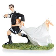 Baking Bride and Groom Couple font b Figurine b font resin fondant font b cake b