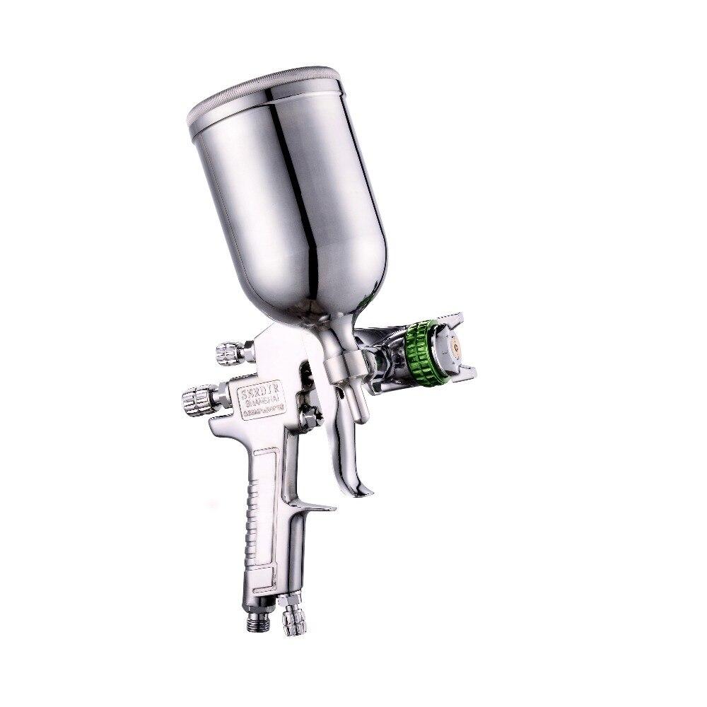 Пистолет W-77 Давление руководство грунтовки пистолет 2,0/2,5/3,0 мм автомобильной росписи мебели пистолет
