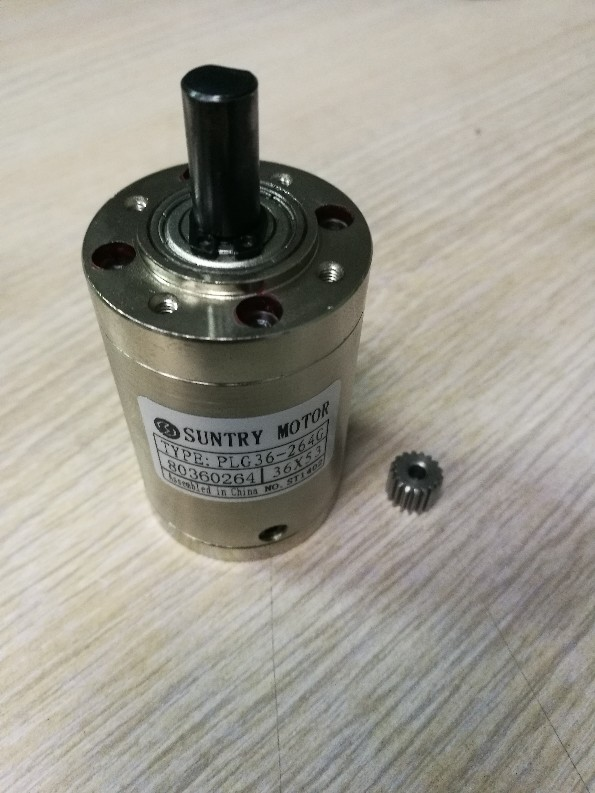 Planetary reducer 36mm diameter Round flange with DC motor use ratio 3.71:1 high quality 5n m 42 42 119 7mm brushless dc motor with planetary gearbox reduction ratio 104 8