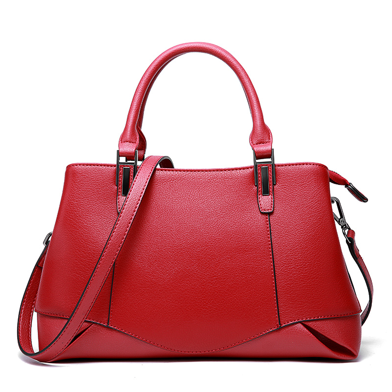 Office Lady Hand Bags 2018 New Arrival Red Handbags Genuine Leather Women Shoulder Sling Bags Fashion Messenger Female Bags 2015 lady s fashion new arrival women s handbag 100% leather shoulder bags retro messenger bags free shipping