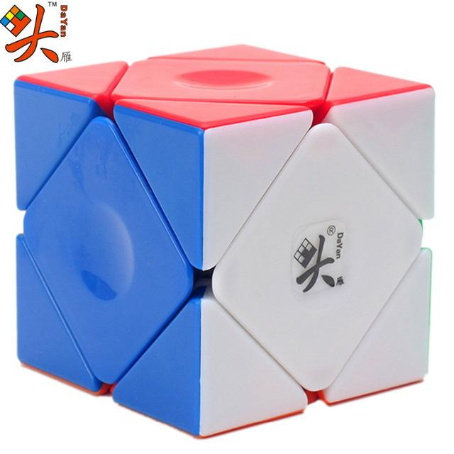 Skewb Cubo mágico Cubo de la Velocidad DaYan Cubo Mágico Irregular Colorido Eductional Juguetes para Los Niños Regalo de Año Nuevo