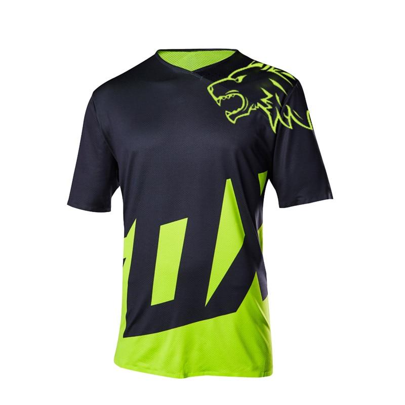 Mtb T-Shirt Jerseys Cycling-Clothes Short-Sleeve Motocross-Bmx Enduro Seven Mx Racing