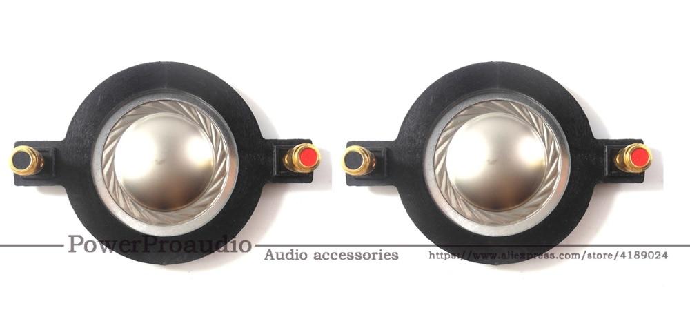 1 pcs ID 34.4mm Flat aluminium wire Titanium Dome Diaphragm tweeter voice coil