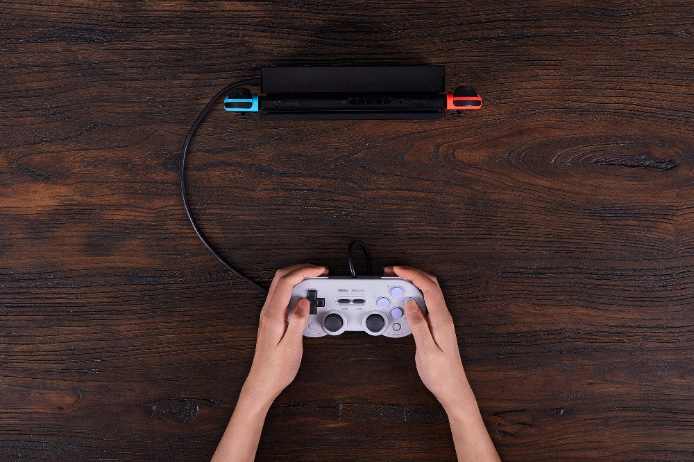 Official 8BitDo Wired SN30 Pro USB Gamepad for Nintendo Switch Windows Raspberry Pi SN Edition 12