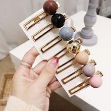 1pcs Elegant Women Fashion Pearl Hair Clip Ornaments Hairpins For Girl Headwear Accessories