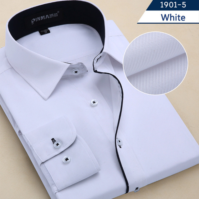 Korean Style Striped Casual Mens Dress Shirts 7xl 8xl 9xl 10xl