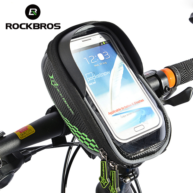 Smartphone & GPS Touch Screen Case Bike Frame Front Tube Bag